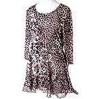 Leopard Print Tee: M