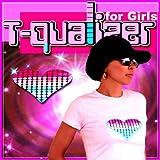 【T-Qualizer】音でメチャカワ光るハートのイコライザーTシャツ (Lサイズ) / 株式会社StrapyaNext