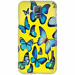 Printland Back Cover For Samsung Galaxy S5 - Passion Designer Cases