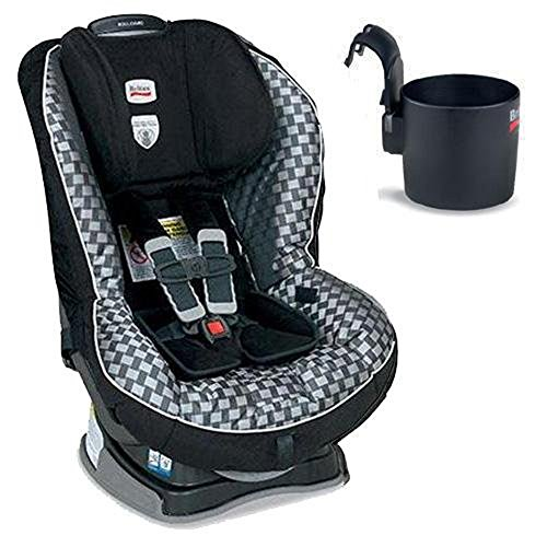 Britax Boulevard G4 Convertible Car Seat And Cup Holder, Silver Birch front-930888