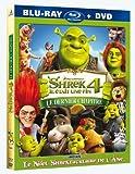 """echange, troc Shrek 4 : il était une fin - inclus le court métrage """"Le Noël Shrektaculaire de l'âne"""" - Combo Blu-ray + DVD [Blu-ray]"""