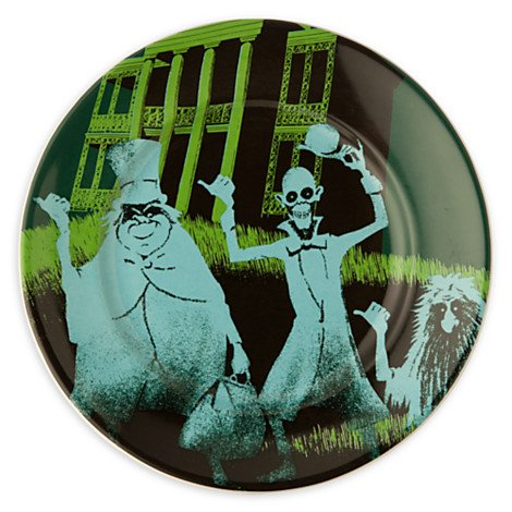 Disney Haunted Mansion Plate