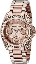 Michael Kors Women's MK5613 Blair Rose Gold-Tone Watch
