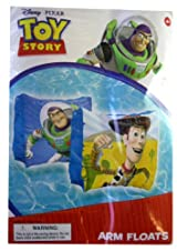 Disney Pixar Buzz and Woody Toy Story Arm Floats - Toy Story Swim Gear - Toy Story Floaties