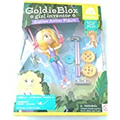Goldie Blox Zipline Action Figure Girl Inventor Building Construction Toy