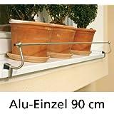 Edelstahl Fensterbank Halterung, 90 cm, für Alu-Fensterbänke - (AFB40/80cm)