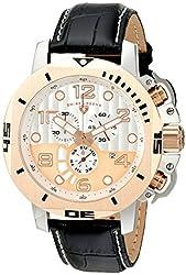 Swiss Legend Men's 10537-02S-RBP Scubador Analog Display Swiss Quartz Black Watch