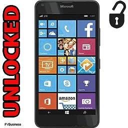 Microsoft Nokia Lumia 640 Unlocked any Gsm 4G LTE 8MP Camera Smartphone - Black -