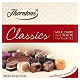 Thorntons Classics with Milk, Dark and White Favourites Chocolates - 274g