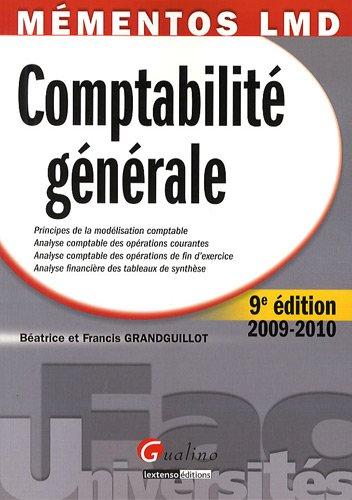 Comptabilit g n rale principes de la mod lisation - Exercice d enregistrement comptable ...