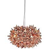 Kartell 9263RR Bloom - Lampada da soffitto, Colore rame