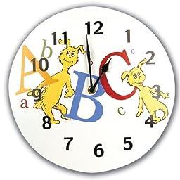 Trend Lab Dr. Seuss Wall Clock, ABC