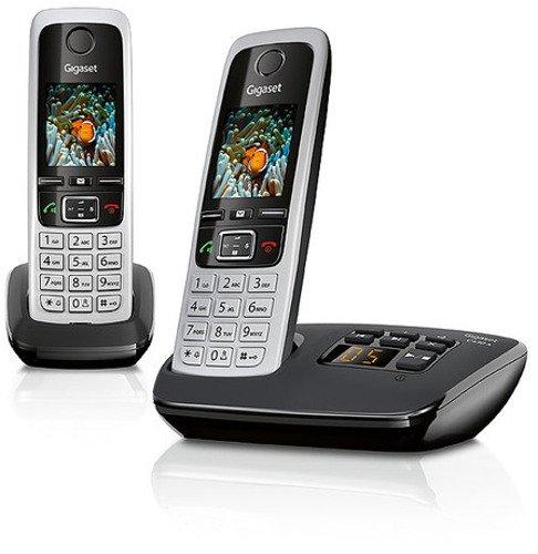 Shopping mit http://telefone.kalimno.de - Gigaset C430A Duo Dect - Schnurlostelefo