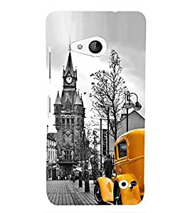 Amazing Car Design 3D Hard Polycarbonate Designer Back Case Cover for Lumia Lumia 550 :: Microsoft Lumia 550