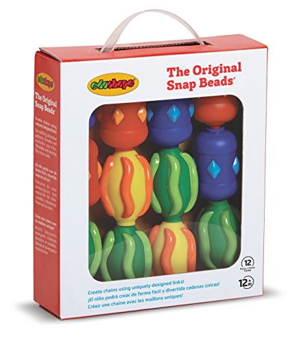 Edushape Original Snap Beads Box, Assorted - 1