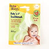 Baby Buddy Baby's 1st Toothbrush, Clear ~ Baby Buddy