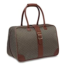 Hartmann Wings Diamond Overnight Satchel