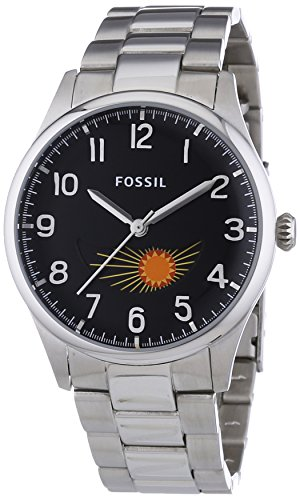 Fossil The Agent FS4848 XL Men's Stainless Steel Analogue Quartz Watch