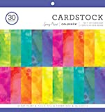 ColorBok 75386 Spray Paint Cardstock Paper Pad 12 x 12