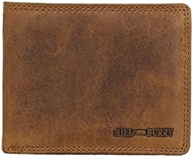Hill Burry Geldbörse / Portmonnaie aus echtem hochwertigem Leder LGHB6404