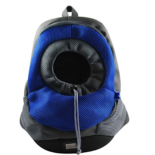 OurWarm Dark Blue Portable Carrier Pet Cat Carrier Cat Travel Bag Rabbit Dog Backpack Medium Size