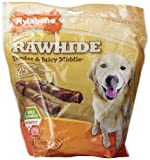 Nylabone Enhanced Rawhide Roll Treats, Chicken, 25 Count