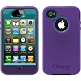 Otterbox Defender Series Case for the Apple iPhone 4 4S in Blue / Purple