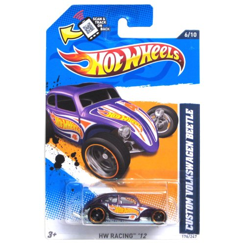 Custom Volkswagen Beetle '12 Hot Wheels 176/247 Vehicle