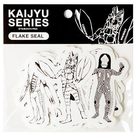 ウルトラ怪獣シリーズ フレークシールA(バルタン星人) KAIJYUキャラクターグッズ