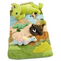 Deluxe Plush Dinosaur Sleep Over Bag