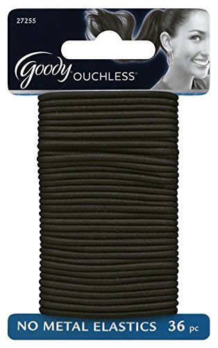 goody-ouchless-gentle-elastic-ponytail-holders-black-36-ct-by-newell-rubbermaid