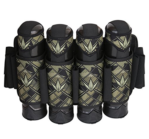 Bunker Kings 4+5 Supreme Pack V3 Paintball Harness Pod Pack - Royal Camo (Camo Paintball Pod Harness compare prices)