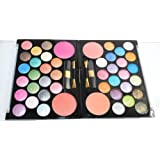 44 Pearl Eyeshadow & Blush Colors Makeup Kit Palette