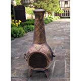 Oakland-Living-Grape-Chimenea-53-Inch-Antique-Bronze