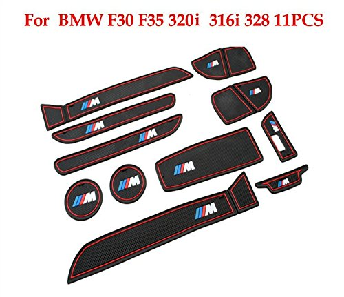 bmw-3-series-m-non-slip-interior-door-bin-mats-cup-holder-rubber-pad-set-f30