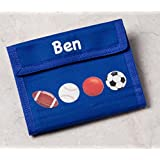 Personalized Childrens Sport Wallet