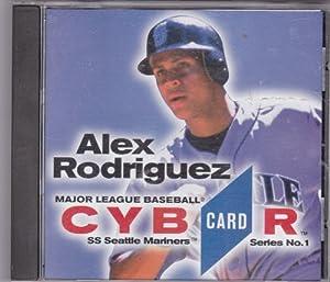 Major League Baseball CYBR CARD Series No. 1 - Alex Rodriguez CD-ROM by Genuine Major League merchandise