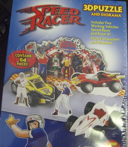 Speed Racer 3-d Puzzle and Diorama by awsome toys - 1