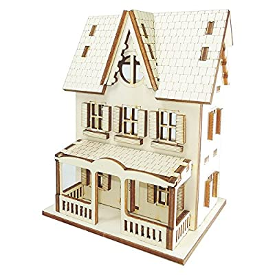 Doll House DIY Plywood Kit - Farmer House ★Made in Korea