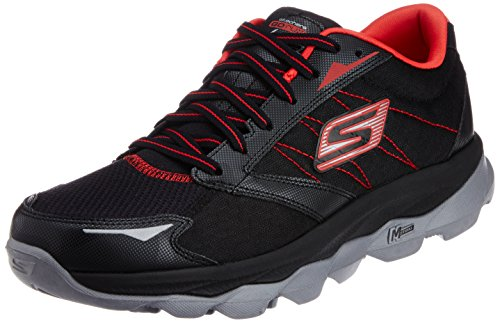 Skechers Performance Men's Go Run Ultra Running Shoe,Black/Red,12 M US