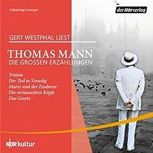 Die großen Erzählungen (       ungekürzt) von Thomas Mann Gesprochen von: Gert Westphal