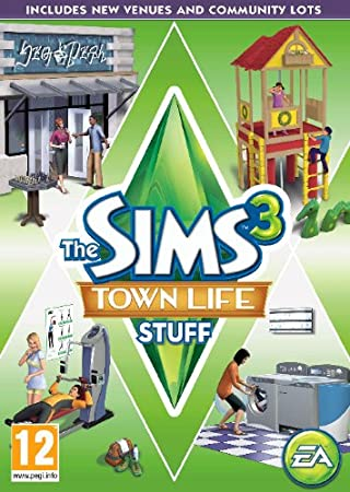 The Sims 3 Town Life Stuff (PC/Mac DVD)
