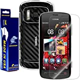 ArmorSuit MilitaryShield - Nokia 808 PureView Screen Protector Shield + Black Carbon Fiber Film Protector & Lifetime Replacements