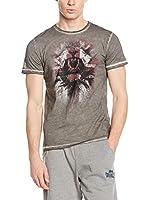 Lonsdale Camiseta Manga Corta Murton (Gris)