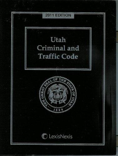 Utah Criminal and Traffic Code with CD-ROM