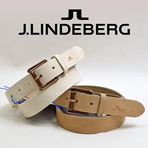 (J.リンドバーグ) J.LINDEBERG ベルト 073-61306 80(76~82cm) 52(ベージュ)