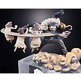 One Piece Crocodile et son barchan Log Box Impel Down Diorama Figurine Trading vol.1...