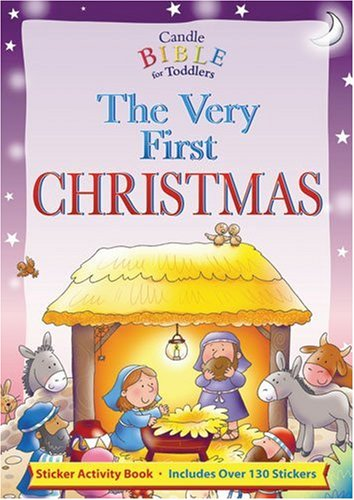 Very First Christmas, The: Sticker Activity Book (Candle Bible for Toddlers)