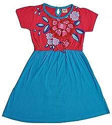 Pinehill Girls' Dress (Multi-Colour, 11-12 Years)