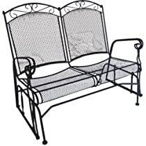 Charleston Wrought Iron Double Glider